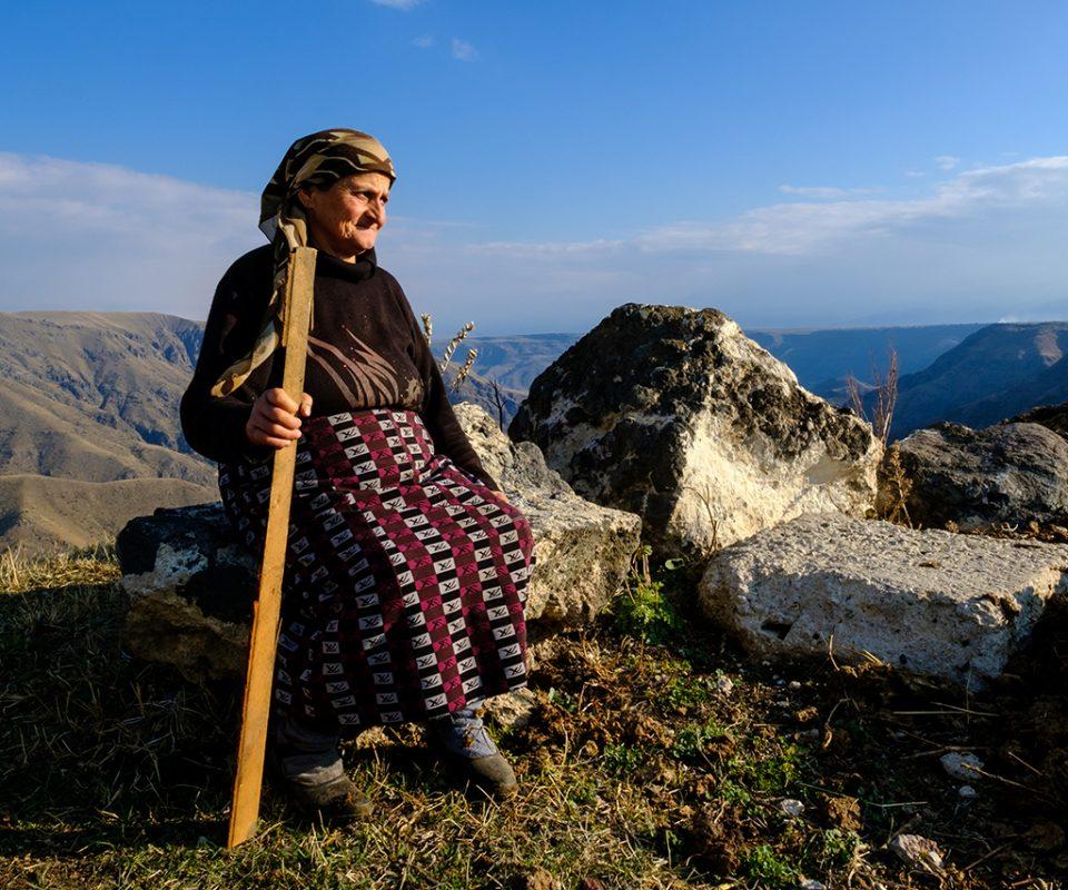 טעם של פעם בהרי הקווקז שבגיאורגיה